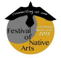 Festival of Native Arts 2015 logo